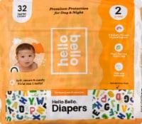 Hello Bello Size 2 Baby Diapers - 32 ct