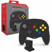 Hyperkin M07389-BK Admiral Premium BT Console Dock for N64 Nintendo 64, Black