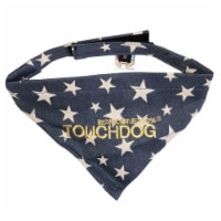 Bad-to-the-Bone' Star Patterned Fashionable Velcro Bandana - Small / Blue - 1