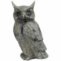 "Sunnydaze Outdoor Garden Statue Great Horned Owl Patio and Lawn Decor - 14"" - 1 outdoor owl statue"