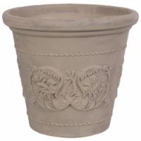 Sunnydaze Arabella Outdoor Flower Pot Planter - Beige - 20-Inch - Single