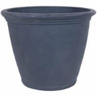 Sunnydaze Anjelica Outdoor Flower Pot Planter - Slate Finish  - 24-Inch - Single - 1 Planter