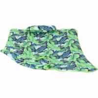 Sunnydaze Cotton Quilted Hammock Pad and Pillow - Exotic Foliage - 1 unit(s)
