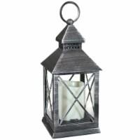 Sunnydaze Yorktown Indoor Battery-Powered LED Candle Lantern - 10-Inch