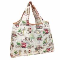 Wrapables Large Nylon Reusable Shopping Bag, England - 1