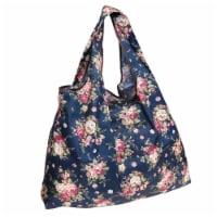 Wrapables Large Nylon Reusable Shopping Bag, Corsage - 1