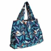 Wrapables Large Nylon Reusable Shopping Bag, Foliage - 1