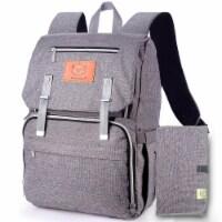 Explorer Diaper Backpack (Classic Gray)