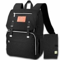 Explorer Diaper Backpack (Trendy Black)