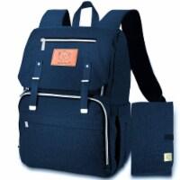 Explorer Diaper Backpack (Navy Blue)