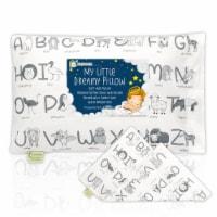 """Printed Toddler Pillowcase 13X18"""" (Alphamas)"""