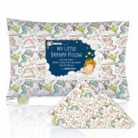 "Printed Toddler Pillowcase 13X18"" (Unicorn Dreams)"