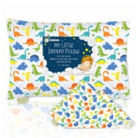 "Printed Toddler Pillowcase 13X18"" (Happy Dino)"