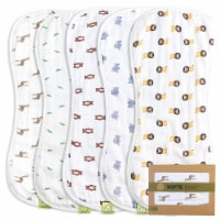 SOFTE Muslin Baby Burp Cloth (The Wild) - 5