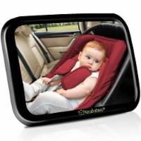 Baby Car Mirror For Rear Facing Infant Car Seat (Sleek Black)