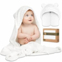 Luxe Organic Bamboo Hooded Towel (KeaStory)