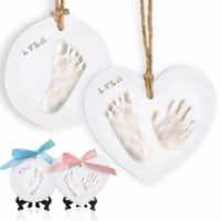 Adore Baby Handprint Keepsake Ornament (Glaze Finish)