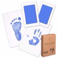 2-Pack Hand & Footprints Inkless Ink Pads (Sky Blue)