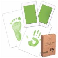 2-Pack Hand & Footprints Inkless Ink Pads (Seafoam)