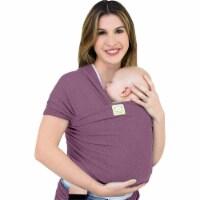 Baby Wrap Carrier (Dark Mauve) - 1