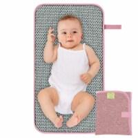 SWIFT Diaper Changing Mat (Sweet Pink) - 1