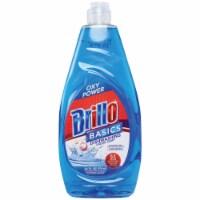 Brillo Basics 24 Oz. Liquid Unscented Oxy Power Dish Soap 83690 Pack of 12