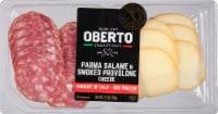 Oberto Parma Salame & Smoke Provolone Cheese - 2.5 oz