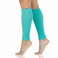 VIM & VIGR Compression Leg Sleeves: 15-20 mmHg (Nylon) - Aqua Size 1 - 1