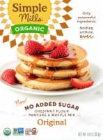 Simple Mills Organic Chestnut Flour Pancake & Waffle Mix - 10 oz
