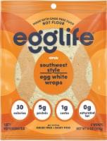 Egglife Southwest Style Egg White Wraps 6 Count