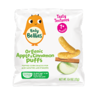 Little Bellies Baby Bellies Organic Apple & Cinnamon Puffs Snack - 6 ct / 0.42 oz