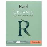 Rael Organic Cotton Cover Overnight Pads