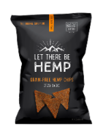 Let There Be Hemp Vegan Nacho Grain-Free Hemp Chips - 5 oz