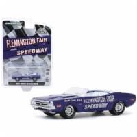 Greenlight 30146 1971 Dodge Challenger Convertible official Pace Car Purple Flemington Fair S