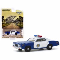 1975 Plymouth Fury Blue & White \Osage County Sheriff\ \ Hobby Exclusive\  Diecast Model Car - 1