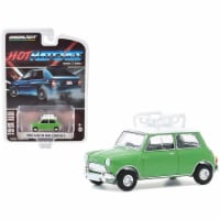 Greenlight 47080A 1-64 Scale Top Hot Hatches Series 1 1965 Austin Mini Cooper S with Roof Rac - 1