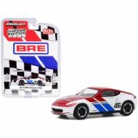 Greenlight 51332 2019 Nissan 370Z No.46 John Morton Chrome Red & White Brock Racing Enterpris