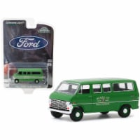 1970 Ford Club Wagon Van Green \Board of Education\ \ Hobby Exclusive\  1/64 Diecast Model - 1