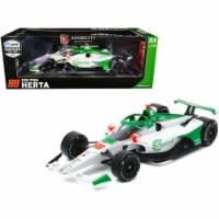 Greenlight 11083 Dallara IndyCar No 88 Colton Herta Capstone Turbine Corporation Andretti Har - 1