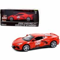 2020 Chevrolet Corvette C8 Stingray Coupe Red Official Pace Car - 1
