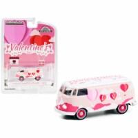 Volkswagen Panel Van \Valentine\'s Day 2021\ \ Hobby Exclusive\  1/64 Diecast Model - 1
