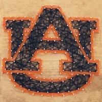 Auburn Tigers Team Pride String Art Craft Kit - 1 ct