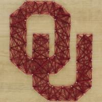 Oklahoma Sooners Team Pride String Art Craft Kit - 1 ct