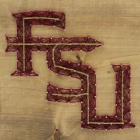 Florida State Seminoles Team Pride String Art Craft Kit - 1 ct
