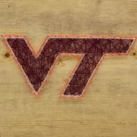 Virginia Tech Hokies Team Pride String Art Craft Kit - 1 ct