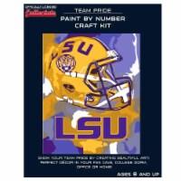 LSU Tigers Team Pride Paint by Number Craft Kit - 1 ct