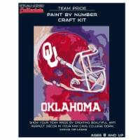Oklahoma Sooners Team Pride Paint by Number Craft Kit - 1 ct