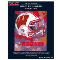 Wisconsin Badgers Team Pride Paint by Number Craft Kit - 1 ct