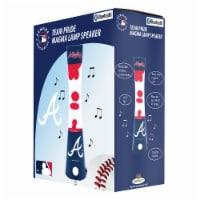 Atlanta Braves Team Pride Magma Lamp Speaker - 1 ct