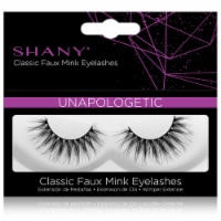 SHANY Classic Faux Mink Eyelashes - UNAPOLOGETIC - 1 Each